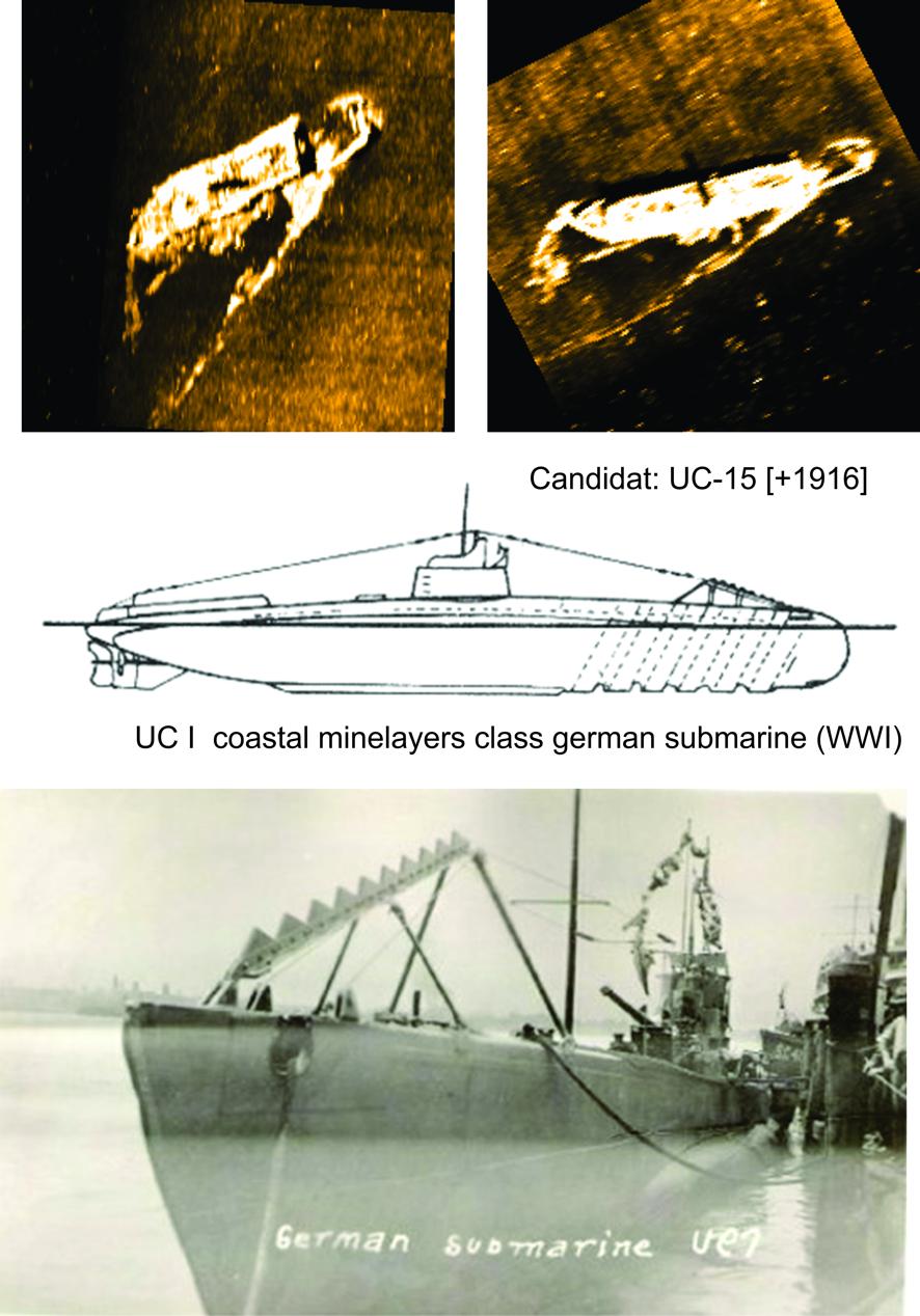 Ship wrecks in situ [217]